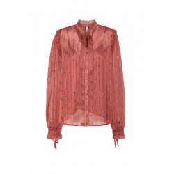 Blouse with fringes by Pepe Jeans London