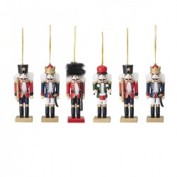 Christmas tree deco set of 6 by Bloomingville