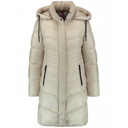 Quilted coat with hood by Gerry Weber Edition