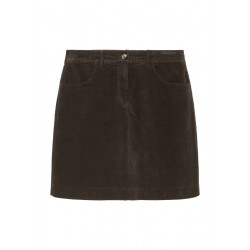 Velvet skirt Made of stretch organic cotton by Marc O'Polo