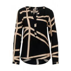 Patterned blouse by Street One