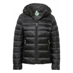 Short quilted jacket with hood by Street One