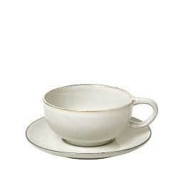 Cup and saucer by Broste Copenhagen