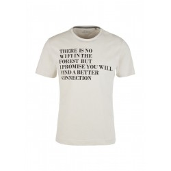 T-Shirt mit Statement-Print by s.Oliver Red Label