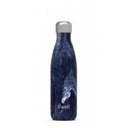 Drinking bottle AZURITE MARBLE (500ml) by Swell
