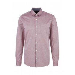 Regular Fit: chemise à manches longues by s.Oliver Red Label