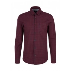 Slim Fit: chemise à manches longues by s.Oliver Red Label