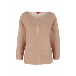 Jumper with 3/4 sleeves by s.Oliver Red Label