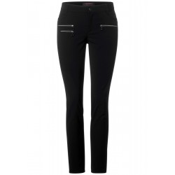 Slim fit pants with stretch by Street One