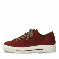 Leather sneakers by Tamaris