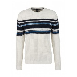 Pull avec motif rayé by s.Oliver Red Label