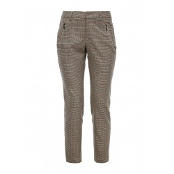Regular Fit: Trousers with check pattern by s.Oliver Red Label