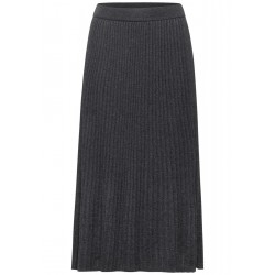 Midi skirt with pleats by Street One