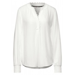 Blouse with lace detail by Street One