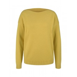 Jumper with a submarine neckline by Tom Tailor