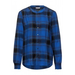 Checked blouse with studs by Street One