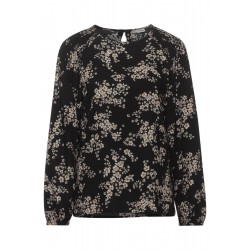 smock blouse with flowers by Street One
