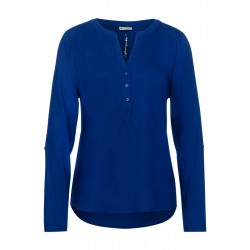 Blouse in basic style by Street One