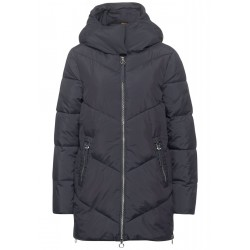 Quilted jacket with stand-up collar by Street One