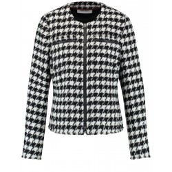 Blazer with dog-tooth check pattern by Gerry Weber Collection