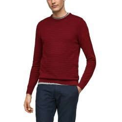 Structured knitted pullover by s.Oliver Red Label