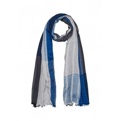 Viscose scarf with stripes by s.Oliver Red Label