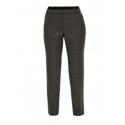 Regular Fit: Patterned 7/8 trousers by s.Oliver Black Label