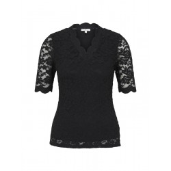 Lace T-Shirt by Tom Tailor