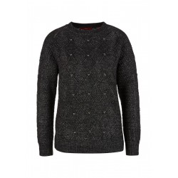 Sweater with knitted pattern by s.Oliver Red Label