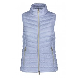 Quilted vest with stand-up collar by Betty Barclay