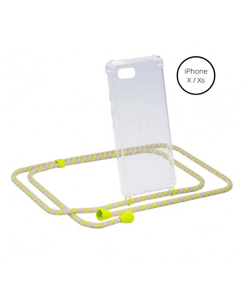 Coque collier iPhone X/XS by Xouxou