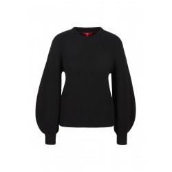 Wool sweater with balloon sleeves by s.Oliver Red Label