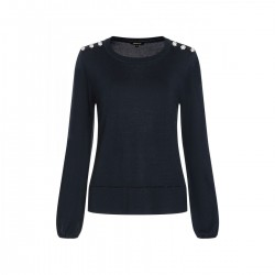 Fine knitted sweater by More & More
