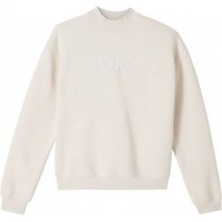 Sweatshirt made from recycled cotton mix by Calvin Klein