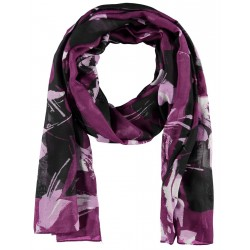 Scarf with flower pattern by Gerry Weber Casual