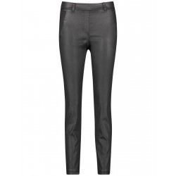 Coated trousers Slim Fit by Gerry Weber Edition