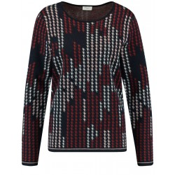 Sweater with graphic design by Gerry Weber Casual