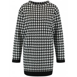 Pull long à carreaux by Gerry Weber Collection