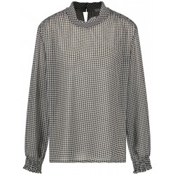 Langarmbluse mit Smokdetails by Gerry Weber Collection
