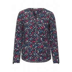 Blouse with flower print by Cecil