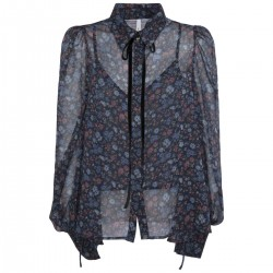 Shirt with flower print by Pepe Jeans London