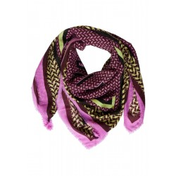 Structured Wild Square Scarf by Street One