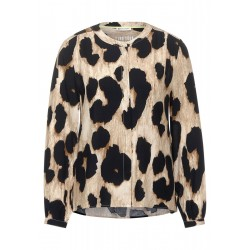 Blouse avec leo-print by Street One