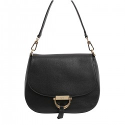 Leather shoulder bag TEMI by abro