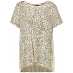 Blouse shirt with sequins by Taifun
