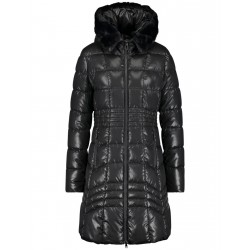 Quilted coat with gloss effect by Taifun