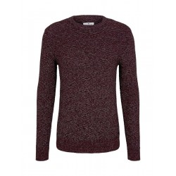 Pullover in Melange-Optik by Tom Tailor