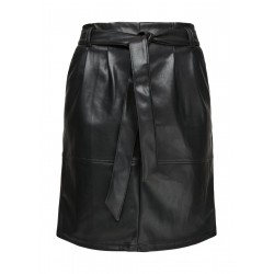 Leather look skirt by s.Oliver Red Label