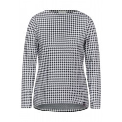 Shirt with Vichy check by Cecil