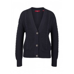 Cardigan mit Strickmuster by s.Oliver Red Label